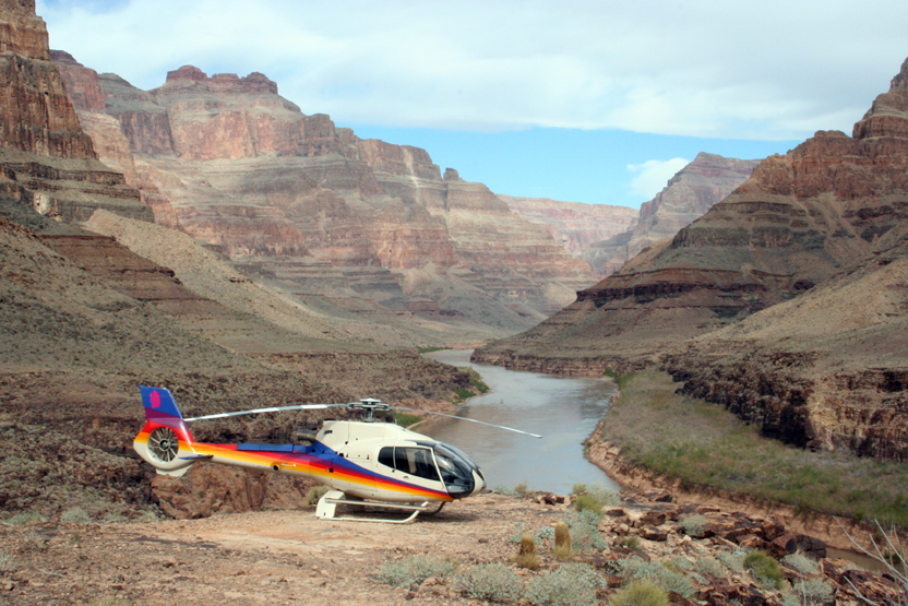 Grand Canyon West Rim Sunset Helicopter Tour