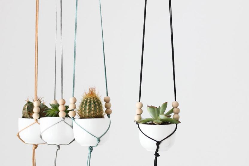 How To Macrame A Plant Holder Credainatcon