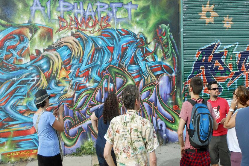 Brooklyn Unplugged Tours Graffiti Street Art Walking Tour