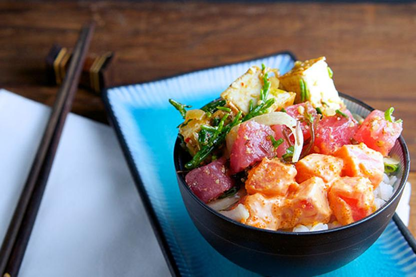 City Cooking West End Poke Bowl