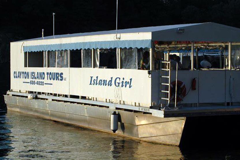 Clayton Island Tours All