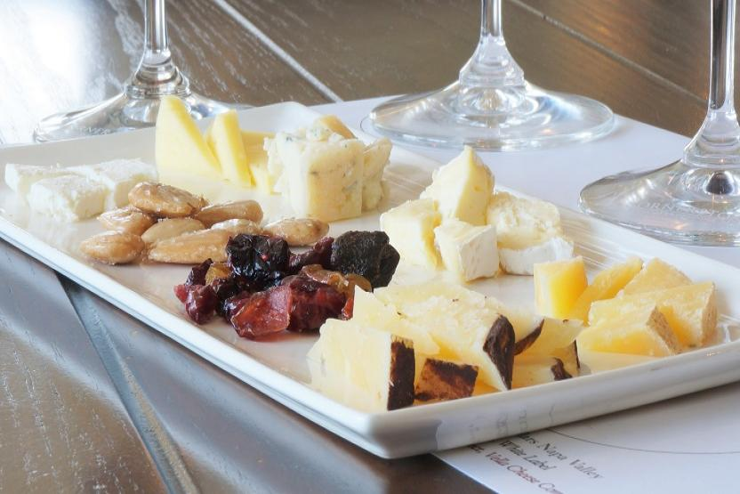 Cornerstone Cellars Wine And Cheese Pairing