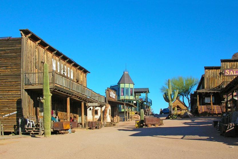 DETOURS AZ Apache Trail Day Tour From Phoenix