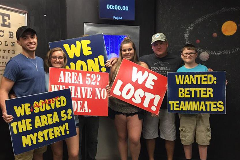 Escape Room Adventure Area52