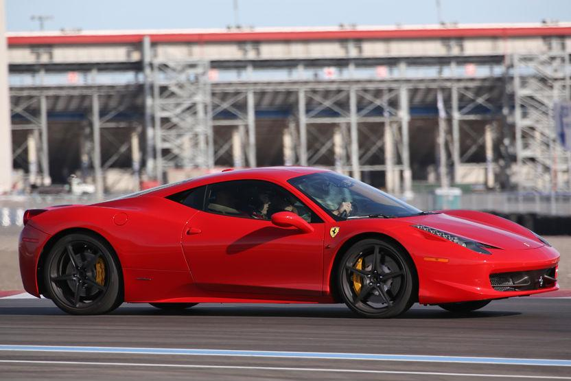 Exotics Racing Los Angeles Ferrari 458 Italia