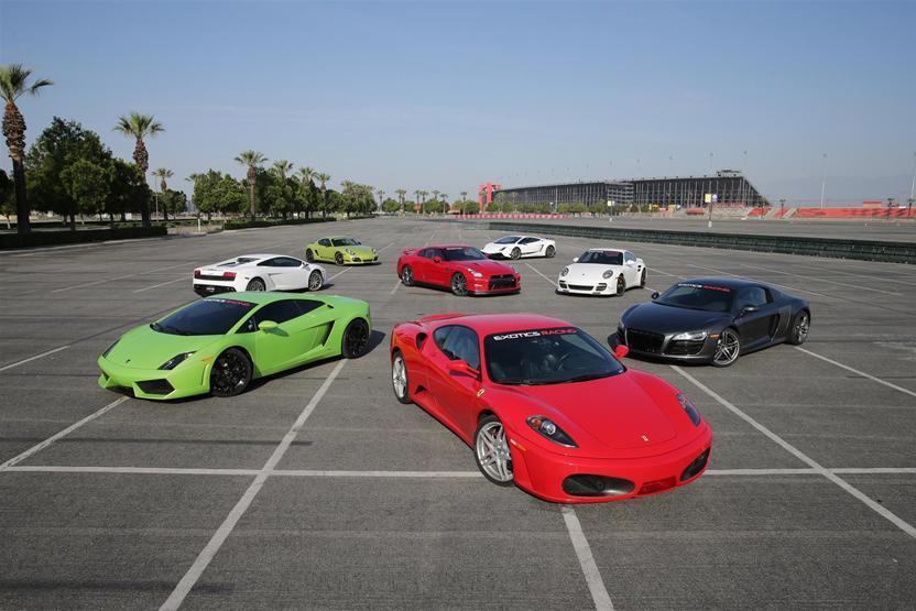 Exotics Racing Los Angeles Lamborghini Gallardo