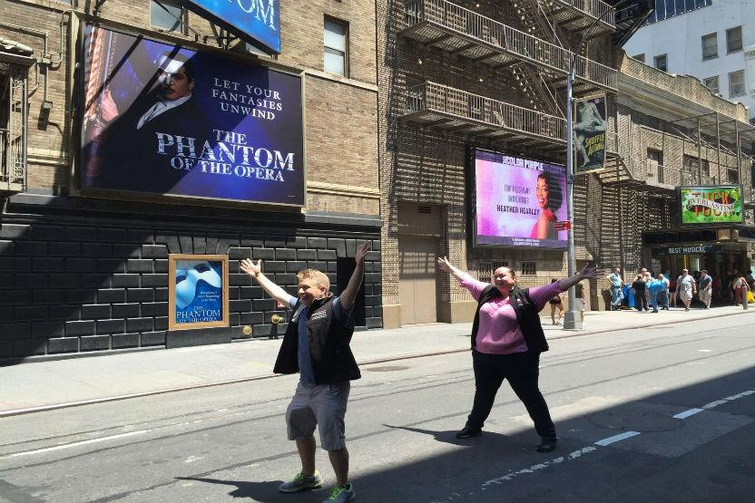 New York Broadway Tours Grand Walking Tour