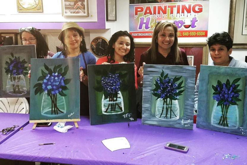 Painting Hangout Vendor Supplied