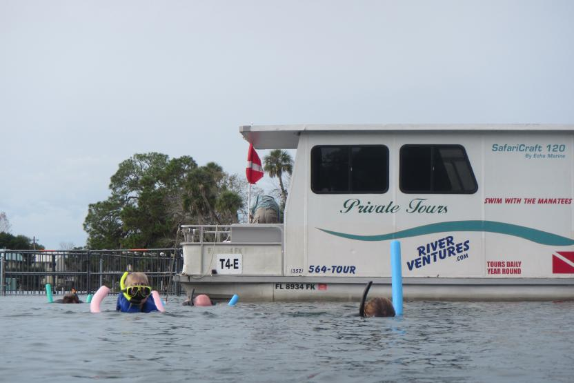 River Ventures Manatee Tour Center Daily Houseboat