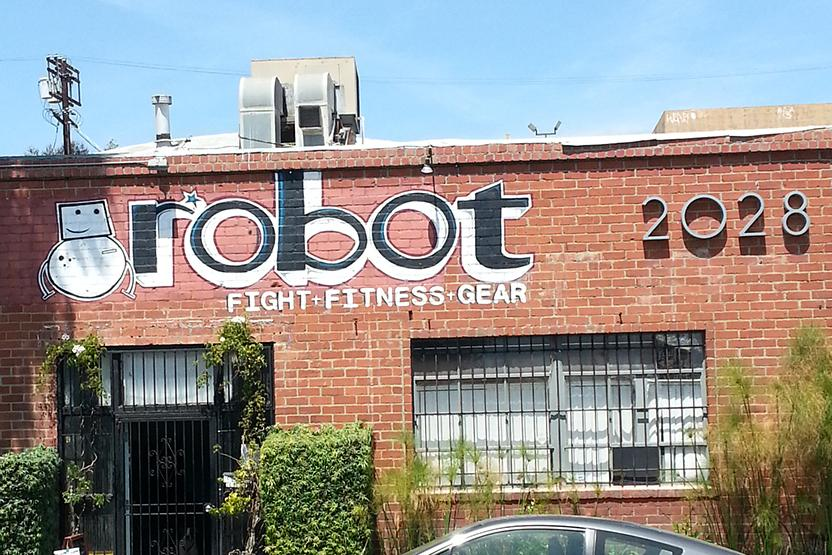 Robot Fight And Fitness
