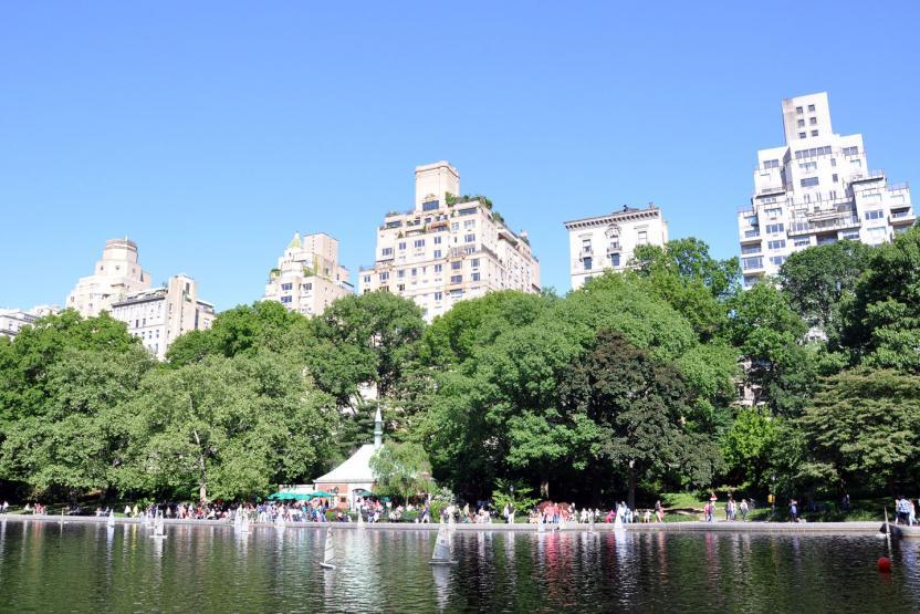 Rolling Orange Bike Central Park