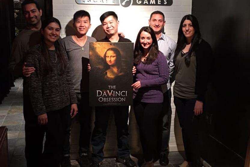 Room Enigma NYC Da Vinci