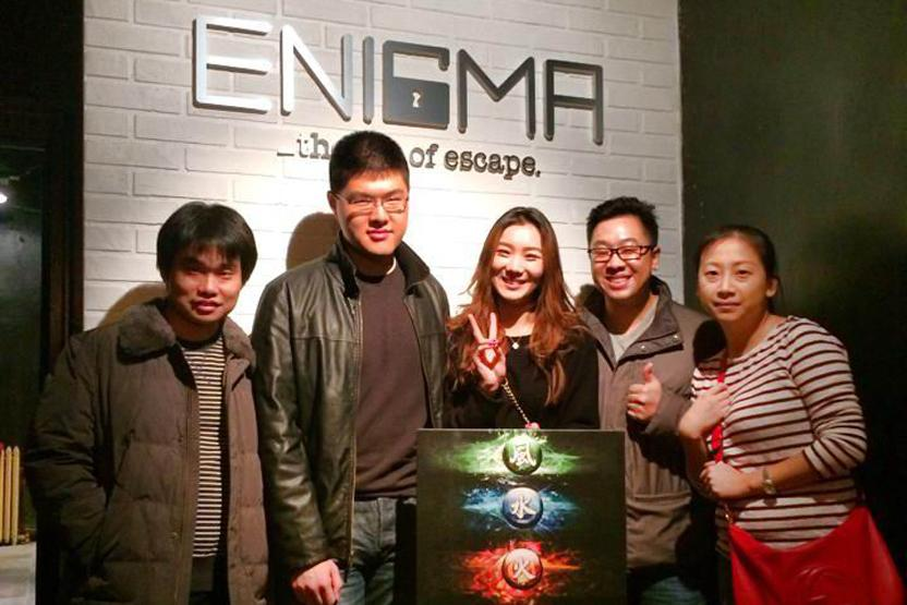 Room Enigma NYC Dungeon Of Elements