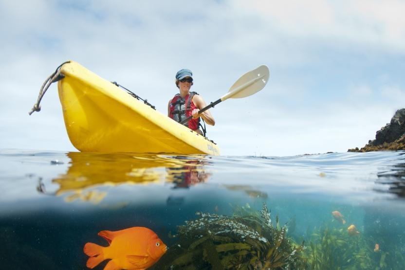 Santa Barbara Adventure Cave Kayak