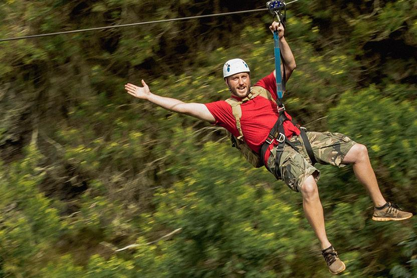 Skyline Eco Adventures Haleakala Zipline