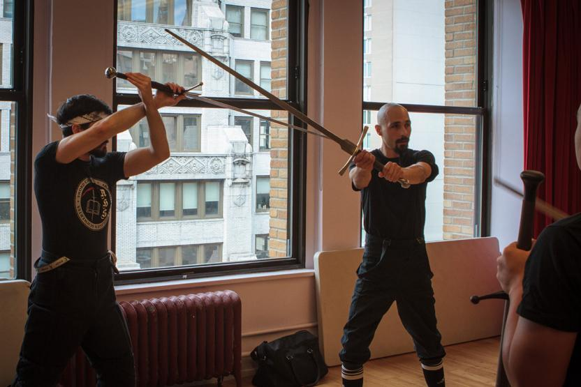 Sword Class NYC German Longsword