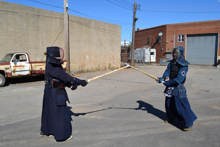 Youth Kendo Age 13 17 Sword Class Nyc Play Fight