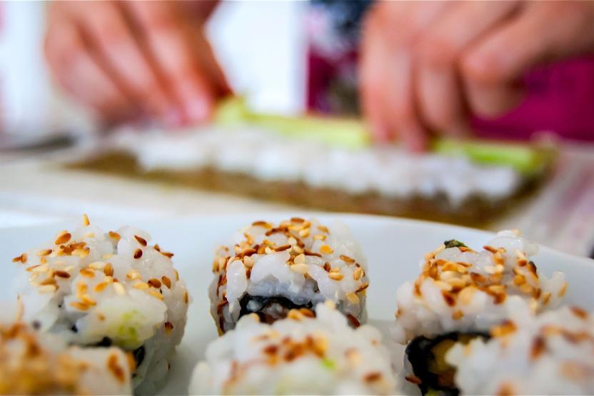 Taste Buds Kitchen Sushi And Dumplings ...