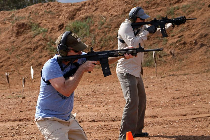 Training Aegis Academy Carbine Day One