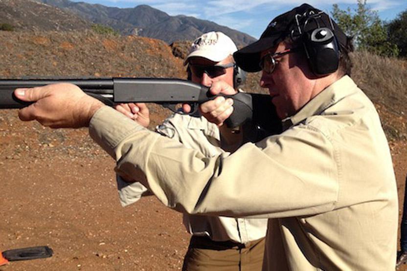 Training Aegis Academy How To Shoot A Shotgun