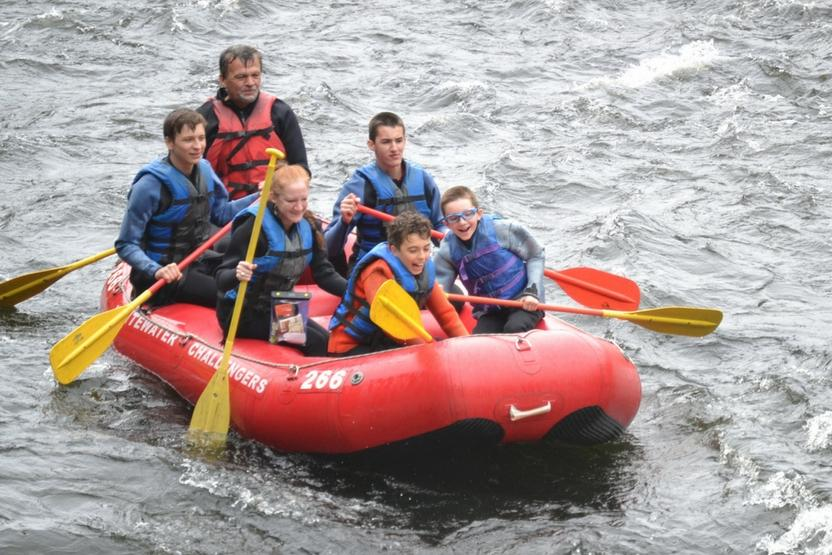 Whitewater Challengers Family
