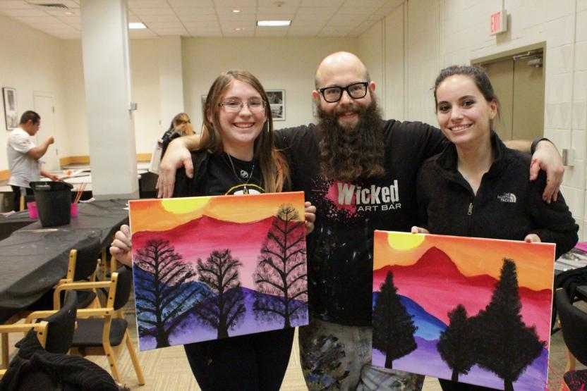 Wicked Art Bar Paint Night