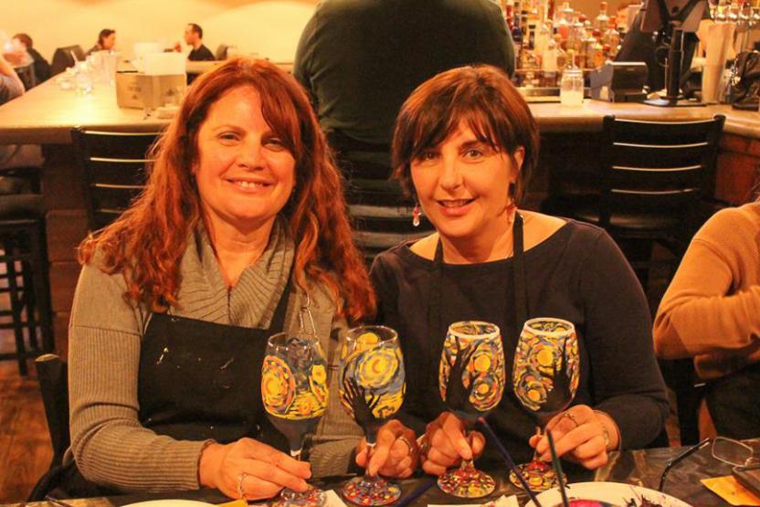 Wicked Art Bar Wine Glass