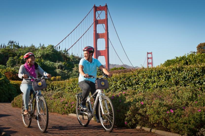 Bay City Bike Golden Gate Bridge To Sausalito