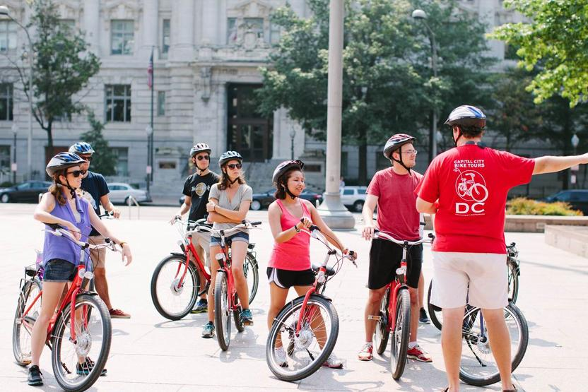 Capital City Bike Tours Day Tours