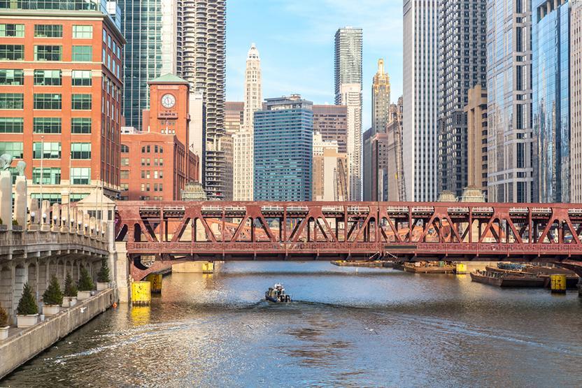Chicago Architecture River Generic