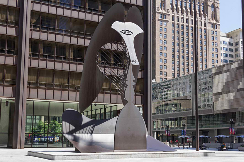 Chicago Richard J Daley Plaza
