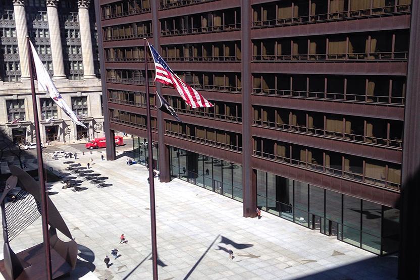 Chicago Richard J Daley Plaza