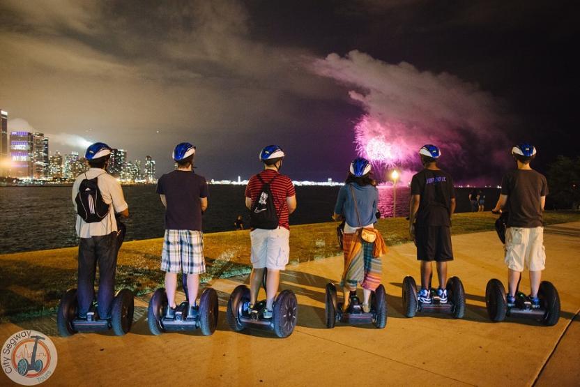 City Segway Tours Chicago Fireworks