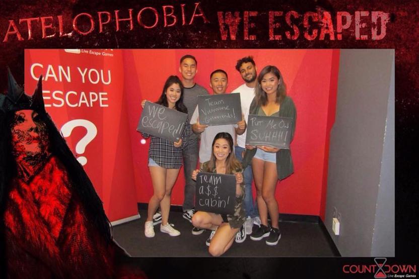 Countdown Live Escape Games Atelophobia