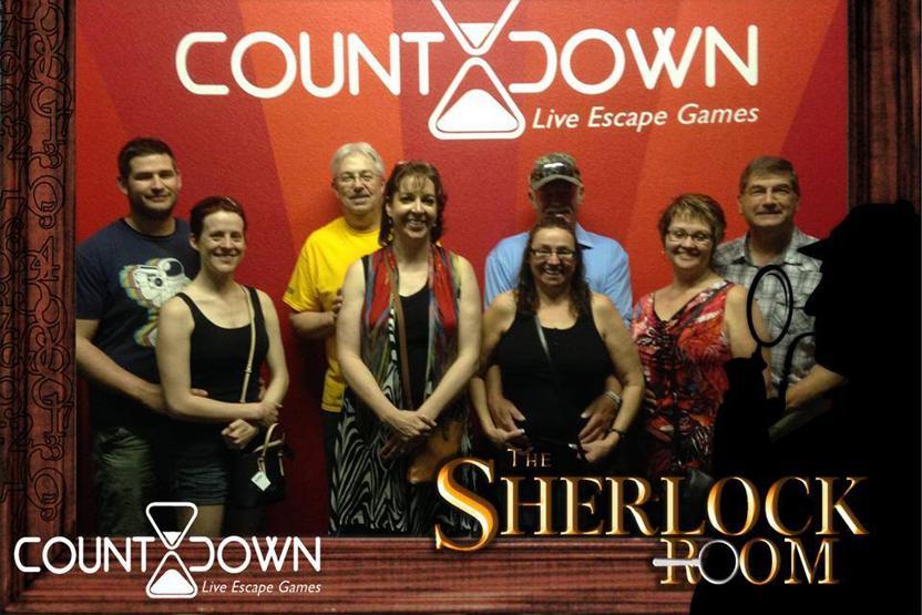 Countdown Live Escape Games Sherlock