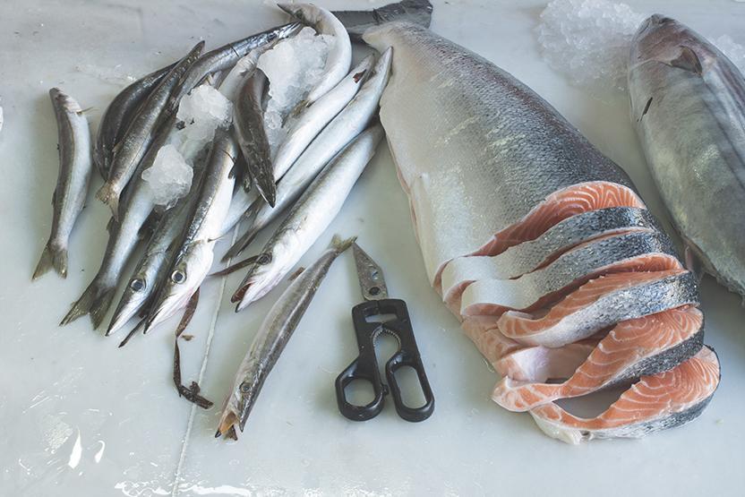 Cutting Fish