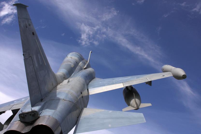 Fighter Jet Aerial Combat