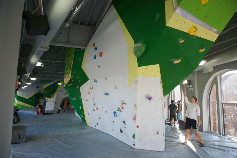 First Ascent Climbing Uptown Location