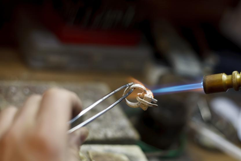 Gold Ring Making