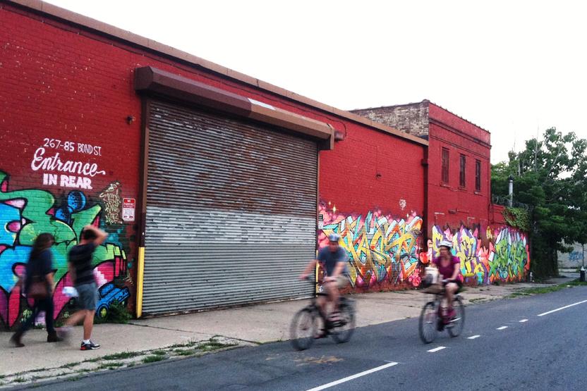 Gotham Sidewalks Street Art Gowanus