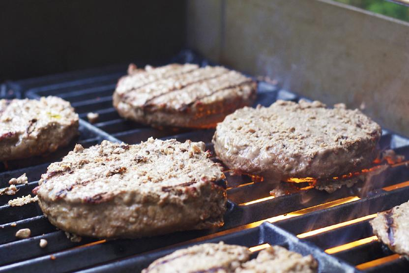 Grilling Meat