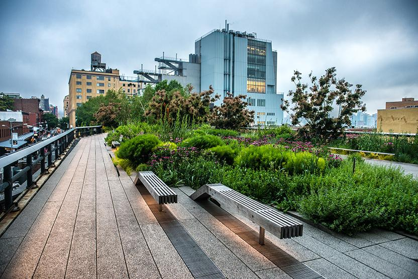 Restaurants By The Highline Park
