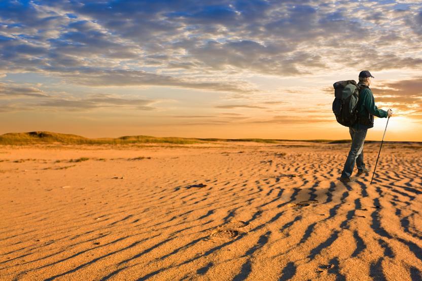 Hiking Desert