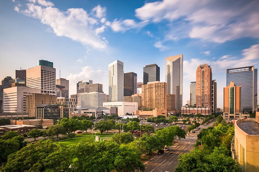 Houston Skyline Daytime