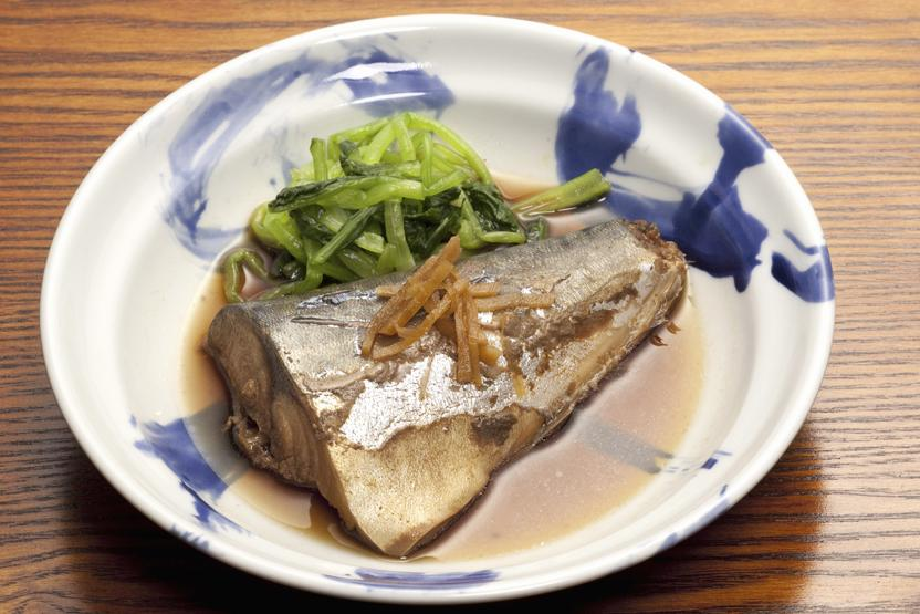 Japanese Cooking Fish Vegetables