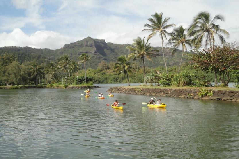 Kayak Wailua