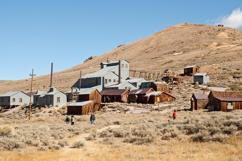 Las Vegas Mining Town