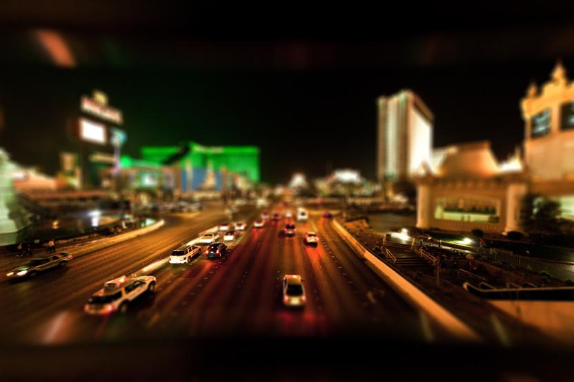 Las Vegas Strip Night