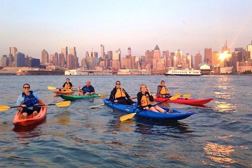 Manhattan Kayak After Dark