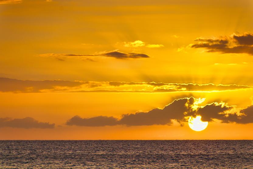 Maui Ocean Sunset